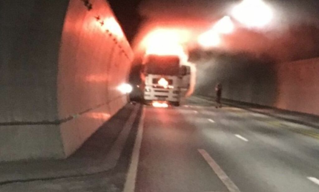 The Oslo Fjord Tunnel will probably be closed for a long time.