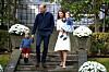HERTUGINNE KATE ER GRAVID: Det britiske kongehuset slapp denne uken den gledelige nyheten om at prins William og hertuginne Kate venter sitt tredje barn! Fra før av har de sønnen prins George (4) og datteren prinsesse Charlotte (2). Foto: Scanpix